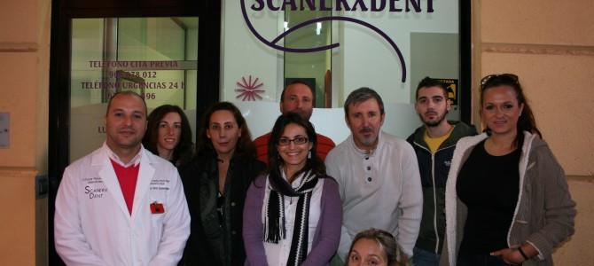Los alumnos de Online visitan Scanerxdent