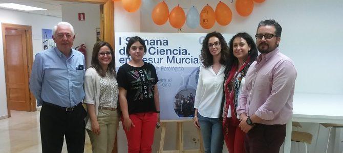 Semana de la Ciencia en Cesur Murcia (primera jornada).