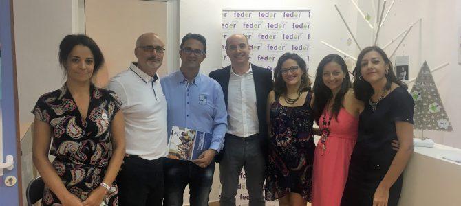 CESUR Murcia asiste a la inauguración de la nueva sede de FEDER.