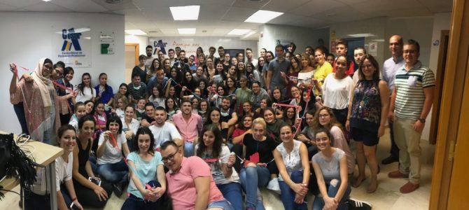 Jornada de bienvenida, alumnos de CESUR Murcia