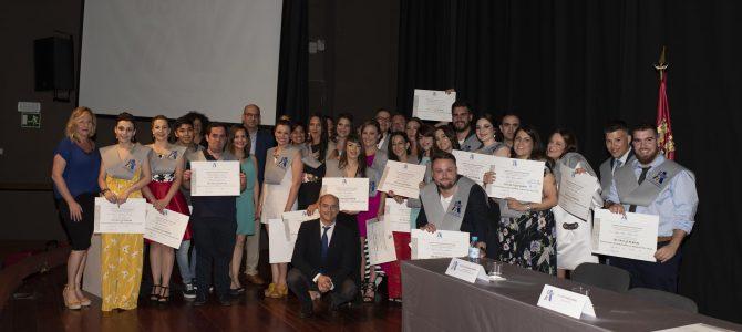 Graduación Promoción 2016/2018 CESUR Murcia.