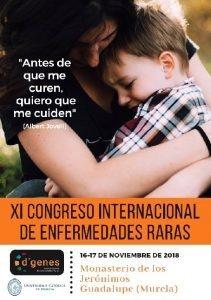 CESUR MURCIA estará presente en el XI CONGRESO INTERNACIONAL DE ENFERMEDADES RARAS