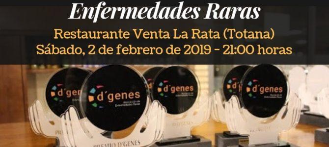 CESUR Murcia acompañará a D'GENES en su Cena de Gala