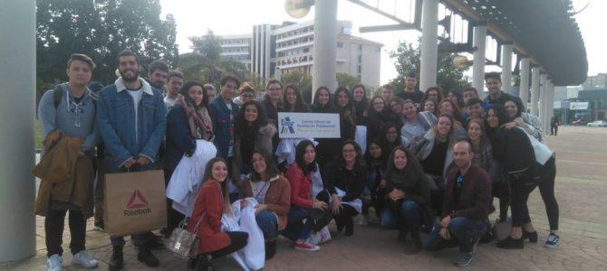El alumnado de Sanidad de CESUR Murcia visita el Área 2 de Salud, HGSL Cartagena.
