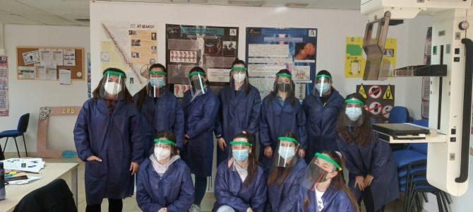 Prácticas de Radiología Simple en Cesur Murcia. Protección total frente a Covid19